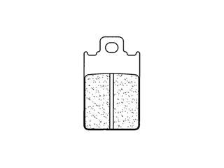 Plaquettes de frein CL BRAKES 2260X59 métal fritté - 272260X59