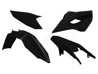 Kit plastique RACETECH noir Husqvarna TE/FE - 7804889