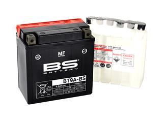 Batterie BS BATTERY BT9A-BS sans entretien livrée avec pack acide