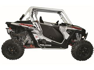 ART SSV Side Panels Set Aluminium Frame/black PHD Panel  Polaris RZR1000 - 441817