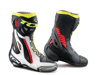Boot Tcx Rt-Race Pro Air White/Red/Yellow Fluo Size Eu45/Us11