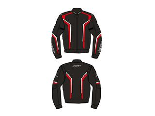 Blouson RST Axis CE textile rouge taille M homme - 814000480369