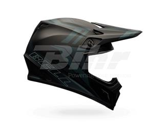 CASCO BELL MX-9 MIPS EQUIPPED BARRICADE NEGRO MATE 60-61 / TALLA XL
