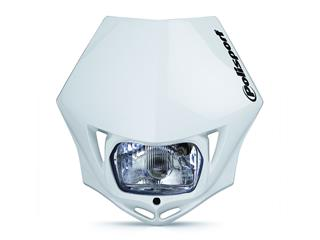 Plaque phare Polisport MMX blanc  - PS025W04