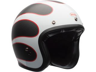 Casque BELL Custom 500 Carbon Ace Cafe noir/blanc taille L - 3a105770-6451-42c5-925a-b1e92f474ef9