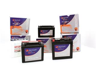 TECNIUM Batterie 12N9-4B-1 konventionell mit säurepack geliefert