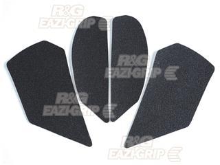 R&G RACING Tank Traction Pads Set 4 Pieces Black Kawasaki ZX10R