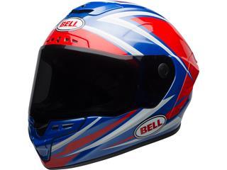 BELL Star Mips Helmet Gloss Red/Blue Tortion Size S