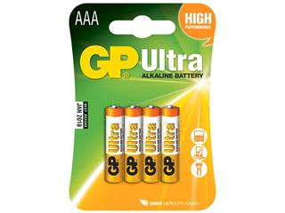 EXIDE LR03/AAA GP 24AU U4 Battery Ultra Alkalyne - 1.5V 4-Pack