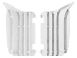 Cache radiateur POLISPORT blanc Yamaha YZ125/250 - 789855WH