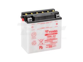 Batería Yuasa YB9L-A2 Combipack (con electrolito)