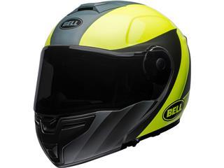 BELL SRT Modular Helmet Presence Matte/Gloss Grey/Neon Yellow Size XXXL - 800000101073