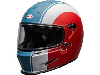 BELL Eliminator Helmet Slayer Matte White/Red/Blue Size XL