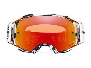 Gafas OAKLEY AIRBRAKE Troy Lee Designs PATRIOT, Lente PRIZM Torch - 3b743baf-eebc-48f1-9559-11d038ce15be