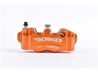 BERINGER Aerotec® Left Radial Brake Caliper 4 Pistons Ø32mm Spacing 100mm Orange