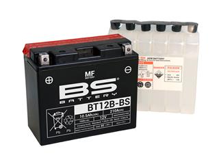 Batterie BS BATTERY BT12B-BS sans entretien livrée avec pack acide - 321821