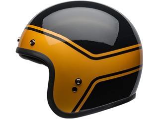 Capacete Bell Custom 500 DLX STREAK Preta/Dourada, Tamanho S - 800000060068
