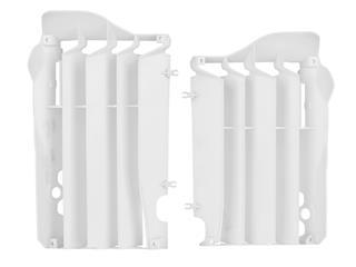 Cache radiateur POLISPORT blanc Honda CRF250R - 784557WH
