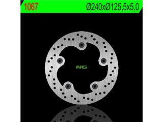 Disque de frein NG 1067 rond fixe - 3501067