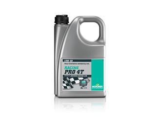 MOTOREX Racing Pro 4T Motor Oil 15W50 Synthetic 4L