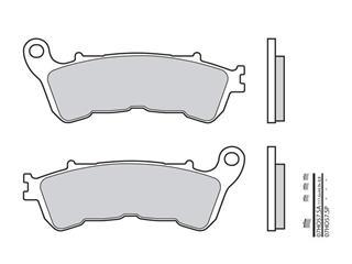 Plaquettes de frein BREMBO 07HO57SA métal fritté - 38800324