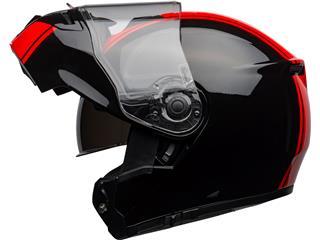 BELL SRT Modular Helmet Ribbon Gloss Black/Red Size XXL - 3cefc72b-280c-4d55-bdc5-749331e04e7b