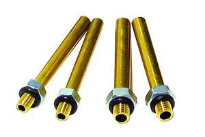MOTION PRO Adaptors set short brass Ø6mm