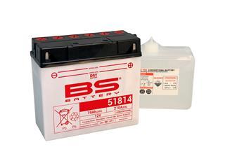 Batterie BS BATTERY 51814 (12C16A-3B) conventionnelle livrée avec pack acide