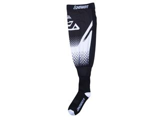 ANSWER Knee Brace Socks White/Black Size L/XL