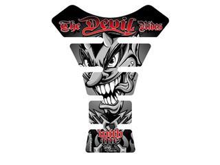 Protection de réservoir MOTOGRAFIX Street Style 1pc Devil noir