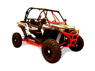 "DRAGONFIRE RacePace ""Flying V"" Front Bar Red Polaris RZR"