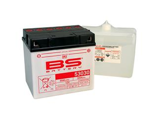 Batterie BS BATTERY 53030 haute performance livrée avec pack acide