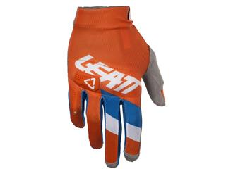 LEATT GPX 3.5 Lite Gloves Orange/Denim Size M/EU8/US9