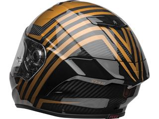 BELL Race Star Flex DLX Helmet Mate/Gloss Black/Gold Size L - 3f002706-fd21-4142-9411-e524b0310e1c
