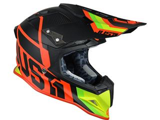 JUST1 J12 Helmet Unit Red/Lime Size S