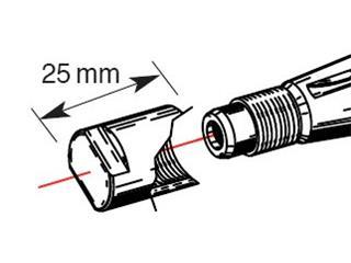 Embout de protection de vilebrequin BUZZETTI M14x1,25/L25mm pour arrache-volant  - 893308