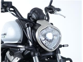 R&G RACING Headlight Shield Translucent Kawasaki Vulcan S
