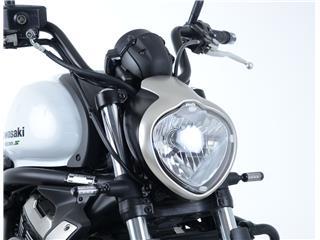 Ecran de protection feu avant R&G RACING translucide Kawasaki Vulcan S