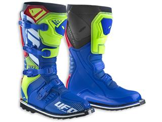 UFO Avior Boots Blue/Yellow/Red Size 42