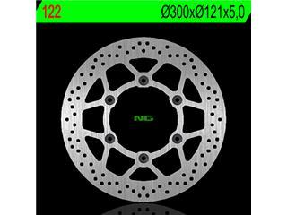 Disque de frein NG 122 rond fixe - 350122