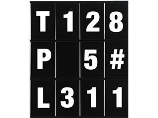 LIGHTECH Number & Letters Set for Pitboard