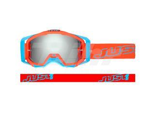 Óculos Just1 Iris Neon vermelha/azul