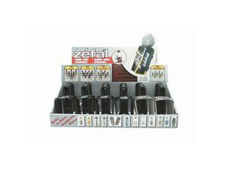 BOTTLE CAGE DISP. ZEFAL 30PCS 20-BLACK/10-SILVER