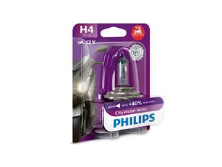 Ampoule PHILIPS H4 Vision Moto 12V/60/55W culot P43t-38 10 Blisters 1pcs - 40519220-88ad-472f-9413-91ca7d69b57d