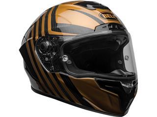 BELL Race Star Flex DLX Helmet Mate/Gloss Black/Gold Size L - 405399ed-138e-495b-b7d2-034d07bd64e6
