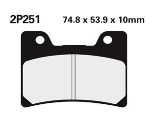 NISSIN Brake Pads 2P251NS Semi-Metallic Yamaha