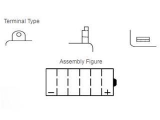 Batterie YUASA YB3L-B conventionnelle - 40a517d6-6875-4597-89c9-e1081a5b04c9