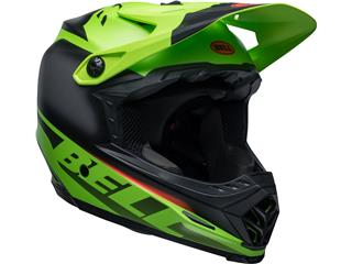 Casque BELL Moto-9 Youth Mips Glory Green/Black/Infrared taille YL/YXL - 411c73d6-128c-4381-b706-e9c2d5d8dbaa
