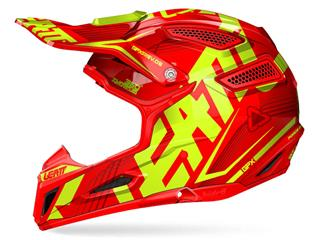 LEATT GPX 5.5 Helmet Composite Junior Red/Yellow Size S
