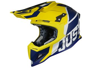 JUST1 J12 Helmet Unit Blue/Yellow Size S - 662321S